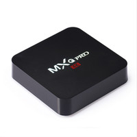 Wholesale Rushed Streaming Boxes MXQ Pro K Google Android TV Box S905 Quad Core GB GB H XBMC KODI fully loaded MXQ pro Mini PC