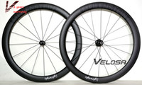 Wholesale Outlet Light weight Full carbon bike wheelset mm clincher tubular C road bike wheel