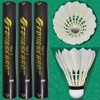 Wholesale Goose feather badminton shuttlecock with high quality for international tournament