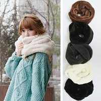Wholesale The new autumn and winter women fur collar High quality pure warm Cashmere Scarf Collar