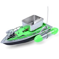 adventure boat - New Mini RC Fishing Lure Bait Boat M Remote Control Fishing Adventure Fish Finder Boat with US EU Plug Included Battery