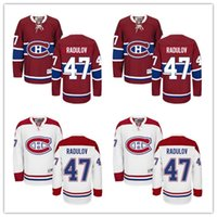 alexander red - Montreal Canadiens Alexander Radulov Hockey Jersey Home Red Away White Radulov Jersey for Men Stitched New