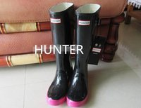 Wholesale Best Selling the hunter hansel and gretel rain boots hunter over knee high waterproof fashion rain boots hunters wellies low price size38
