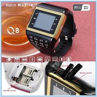android making - 2016 Smart Watch phone quot Q8 mobile dual sim watch phone unlock M spy camera bluetooth touch screen make call