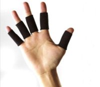 Wholesale 0pcs Sport Protective Gear Basketball Fingerstall Volleyball Finger Cap Protector Finger Protector capping twist off bottles gear pa
