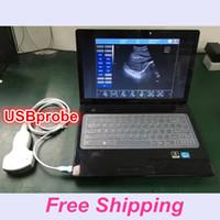 Wholesale Sonar Probe Ultrasound Uprobe ultrasound machine USBprobe usg scanner with CE ISO ECHO VET Human software sonography device