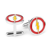 Wholesale 2016 hot sale Factory price Flash Men LOGO Cuff Links cufflinks for shirts French cufflinks Cufflink For Mens Wedding Cuff Links