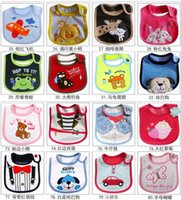 applique towel - baby bibs infant saliva towel burp clothes bandana bib Nursing accessories cotton cartoon applique soft TPU waterproof layer new arrival