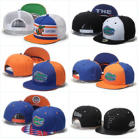 Wholesale Florida Gators Basketball Caps Snapback College Football Hats Adjustable Cap New Style Cheap Florida Hat