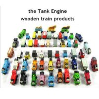 Wholesale Mini Train Car Model Wooden Complete Set Of Car Toys Train Toy