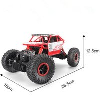 Wholesale New RC Car WD GHz Rock Crawlers Rally climbing Car x4 Double Motors Bigfoot Car Remote Control Model Off Road Vehicle Toy