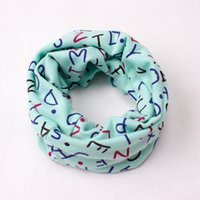 Unisex baby boy rings - New Children Baby Boys Girls Cartoon Printing O ring Scarves Autumn Winter Warm Cotton Scarfs Soft Comfortable Collar Neckerchief