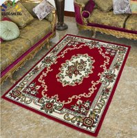 Wholesale Ethnic Persian Style Living Room Coffee Table Mats Anti Slip Carpet Floor Carpet Area Rug Mat