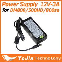 Wholesale 1pc AC Adapter Power Adapter output DC V A power supply transformer adaptor for DM800hd DM500HD DM800se order lt no track