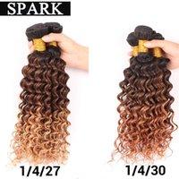 Wholesale 6A human curly hair African women Peruvian Malaysian Brazilian ombre deep wave virgin hair