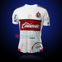 best football fans - Best Quality MEXICO Liga MX Club Xolos De Tijuana Chivas Home Red Player version Soccer Jersey White Fans version Football Shirts