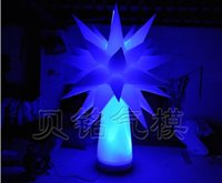 Wholesale by DHL Custom LED inflatable Lighting Tree decoration star tree can be do the size you want