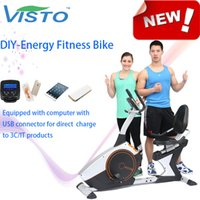 Wholesale DIY Energy Fitness Bike Self generating Fitness Bike fitness bike Autogenerada aptitud bici