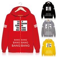 big men s suits - KPOP Fan Bigbang GD G Dragon Big bang MADE Cotton Sweatshirt Suit Hoody Outerwears Sportswear