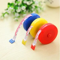 Wholesale 100pcs bag Inch cm Compact and practical Retractable Measure Tool Diet Sewing Cloth Soft Ruler Tape Tailor
