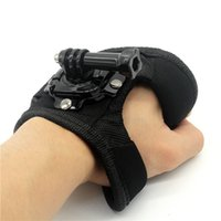 band cam - Go Pro Accessories Degree Rotation Glove style Wrist Hand Band Mount Strap For GoPro Hero Hero Session Xiaoyi cam
