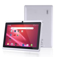 Wholesale 7 inch A33 Quad Core Tablet Allwinner Android KitKat Capacitive GHz MB RAM GB ROM WIFI Dual Camera Flashlight Cheapest