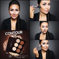 Wholesale New Braned Makeup Face Powder Foundation CONTOUR KIT Bronzers Highlighters colors Kit Contour Light to Medium Medium to Tan