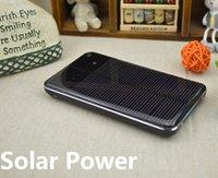 Cheap Solar Power Bank 10000mah Mobile Power Portable Phone Solar Charger Polymer Battery 2 usb output (Customizable LOGO)