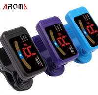 Wholesale 3 colors LED Chromatic ukulele guitar bass tuner afinador parts accessory AT guitar tubers