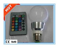 Wholesale Hot selling durable RGB led W Bulb with Colorful