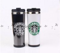 b coffee - Starbucks Double Wall Stainless Steel Mug Flexible Cups Coffee Cup Mug Tea Travelling Mugs Tea Cups Wine Cups Z419 B