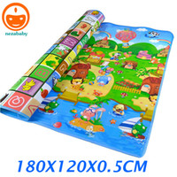 Wholesale Indoor Outdoor Sport Carpet Baby Play Carpet Baby Crawling Mats Children Developing Rug Happy Farm Kids Play Rugs PX02