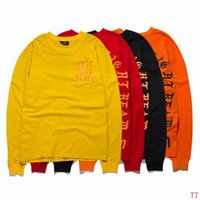 Wholesale Yeezus Tshirt I Feel Like Pablo KOBE Kanye West Season Clothing long sleeve t shirt brand hiphop neck tshirt homme sportswear fashion