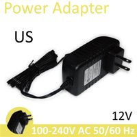 Wholesale H Universal US Power Adapter Plug Power Charger V A Meter Power Supply For H Wansview Dome Bullet WIFI IP Camera