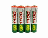 Wholesale 4pcs Hi Power AAA MAH V GP Rechargeable NiHM Battery Charging times or1000 times