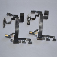 Wholesale Hight Grade Mobile Phone Proximity Sensor Power On Off Flex Cable Spare Parts for iPhone s