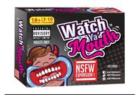 adult gift cards - Watch Ya Mouth Adult Phrase Card Game Expansion Pack Fun Gift Family Party Christmas Board Game KKA969