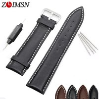 whole mens seiko watch band buy cheap mens seiko watch band mens seiko watch band watchbands black brown leather watch strap band genuine soft buckle wrist