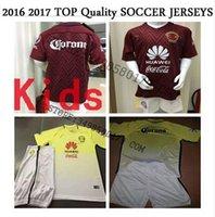 america child - Best Quality Mexico Club America Kids SOCCER SHIRTS red yellow R SAMBUEZA C BLANCO Children SOCCER SHIRT