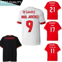 Wholesale The best quality of the new and Benfica home and away men s football jersey Benfica football jersey shirt
