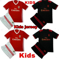 bamboo homes - 2016 SL Benfica Jersey Kids kit Soccer Benfica jersey Children youth Kits Lisboa Football shirts home maillot de foot