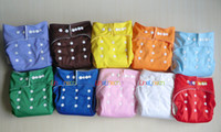 Wholesale New One Size Boy Girl Unisex Baby Infant cloth diapers nappies covers with liner inserts