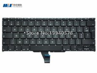 air fr - Freeshipping Laptop French FR Keyboard For Mac book air quot A1370 A1465 without backlight Replacement MOQ