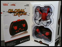 Wholesale Global Drone GW008 g ch axis auto balance mini rc drone quadrocopter with LED light dhl
