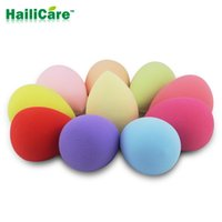 Wholesale 1pc Makeup Foundation Sponge Puff Flawless Powder Blender Blending Cosmetic Smooth Beauty Make Up Tool Women Foundation Beauty