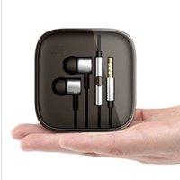 Wholesale Upgrade mm Metal Xiaomi Headphone Universal Earphone Noise Cancelling In Ear Headset Earphone For Xiaomi Samsung HTC Huawei