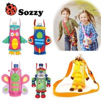 beverage products - United States SOZZY child water bottle pouch bag beverage bottle handle patent product New Sozzy Baby Toy Baby Rattles Mobiles Series Chi