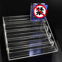 acrylic store displays - 5 Layer E Liquid Acrylic Display Stands Clear Holder For Ecig Store ml ml ml ml ml Vape Juice Bottles Show Shelf Racks