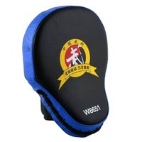 Wholesale PU Leather MMA Boxing Punching Mitt Target Focus Punch Pad Training Glove for Punch and Kick Training