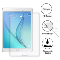 Wholesale Qiaogle Anti explosion Tempered Glass Screen Protector Ultra Hard For Samsung Galaxy Tab A T550N T550 inch Premium Screen Protector